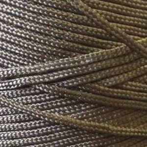 1.3mm Nylon Twine, Braided - Black-0