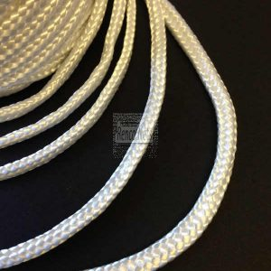 8mm Twine - Braided Nylon - White-223