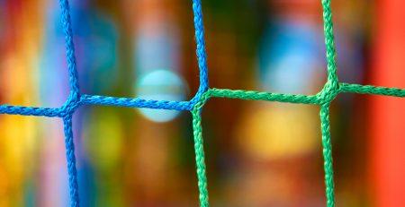 multi colored net