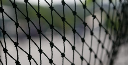 black netting