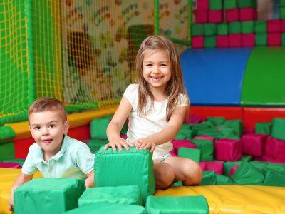 children in soft play