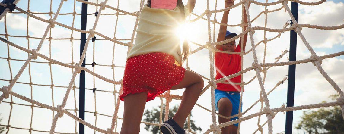 netting playground